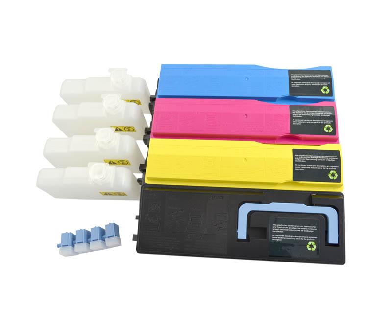 4 Toner kompatibel für Kyocera TK-540 TK540 TK 540 FS-C5100 DN FS-C5200 DN C5100